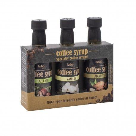 Funlab Select - koffie siropen 135ml