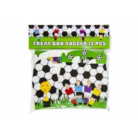 Traktatie Doosjes Voetbal