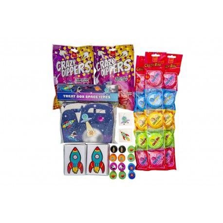 Ruimtevaart traktatie pakket - 12 pieces
