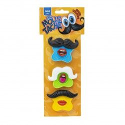 Funlab Mr. Mustache lollipops 51 gram